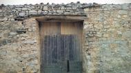 La Curullada: detall porta cobert  Ramon Sunyer