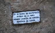 La Móra: Forma part del municipi de Granyanella  Ramon Sunyer