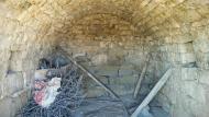 Massoteres: Cabana 1 interior  Ramon Sunyer