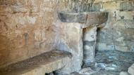Massoteres: Cabana 2 interior  Ramon Sunyer