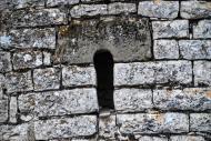 La Móra: Església Sant Jaume  detall finestra  Ramon Sunyer