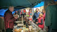 Sedó: parada de formatges i licors del Ramon de Gospí  Ramon Sunyer