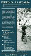 cartell Jornada Pedrolo i la Segarra