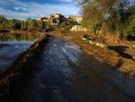 Castellnou d'Oluges: El Sió  Attila
