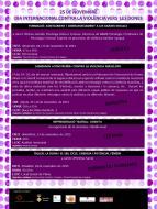 cartell Dia Internacional contra la violència vers les dones 2015