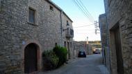 Montoliu de Segarra: detall carrer  Ramon Sunyer