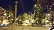 Guissona: Plaça Vell Pla  Ramon Sunyer