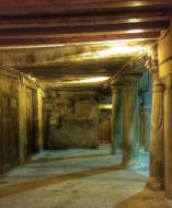 Santa Coloma de Queralt: Porxos  Ramon Sunyer