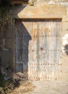 Muller: detall porta  Ramon Sunyer