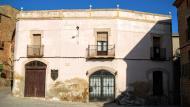Les Pallargues: detall façana  Ramon Sunyer