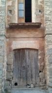 Mont-Roig: detall casa  Ramon Sunyer