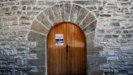 Pallerols: Porta església de sant Jaume  Ramon Sunyer