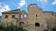 Pomar: portal i esglesia  Ramon Sunyer