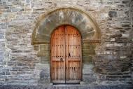 Sant Antolí i Vilanova: Porta Església de Sant Antolí  Ramon Sunyer