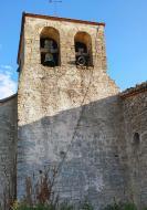 Civit: Església de santa Maria campanar  Ramon Sunyer