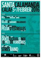 cartell Festa Major d'Hivern - Santa Calamanda