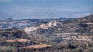 Montoliu de Segarra: vista des de Suró  Ramon Sunyer