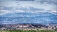 La Curullada: El Montsec de fons  Ramon Sunyer