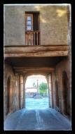 El Mas de Bondia: portal  Ramon Sunyer