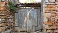 Montornès de Segarra: detall porta  Ramon Sunyer