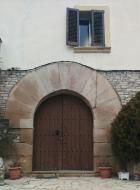 La Rabassa: detall casa  Ramon Sunyer