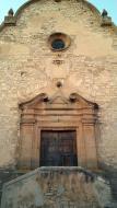 Les Oluges: Santa Maria (s. XVIII) barroc-neoclàssic  Ramon Sunyer