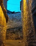 Les Oluges: carrer  Ramon Sunyer