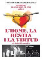 cartell 5a Mostra de Teatre Vila de Calaf