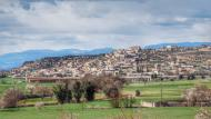 Les Oluges: vista  Ramon Sunyer