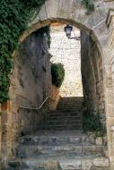 La Guàrdia Lada: portal del castell  Ramon Sunyer