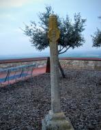 Granyena de Segarra: creu  Ramon Sunyer