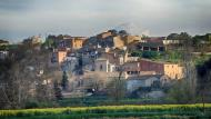 Castellnou d'Oluges: vista al captard  Ramon Sunyer