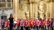 Cervera: concert de fi de curs de la coral infantil Nova Cervera  Ramon Armengol