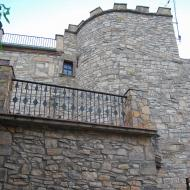 Vallfogona de Riucorb: castell  Ramon Sunyer