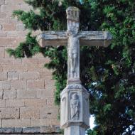 Vallfogona de Riucorb: Creu de terme  Ramon Sunyer