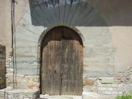 Les Oluges: castell de l'Oluja alta  Isidre Blanc