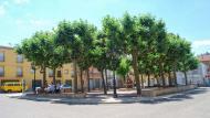 Sant Guim de Freixenet: Plaça del Doctor Perelló  Ramon Sunyer