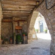 La Manresana: portal  Ramon Sunyer