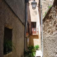 Tarroja de Segarra: vila closa  Ramon Sunyer