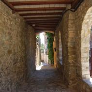 Tarroja de Segarra: carrer del Molí  Ramon Sunyer