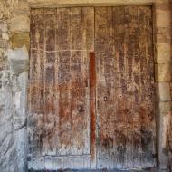 Tarroja de Segarra: porta  Ramon Sunyer