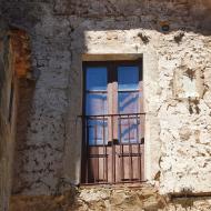 Tarroja de Segarra: finestra  Ramon Sunyer