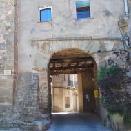 Tarroja de Segarra: portal  Ramon Sunyer