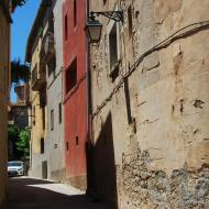 Tarroja de Segarra: carrer  Ramon Sunyer