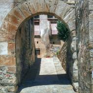 Tarroja de Segarra: portal de Baix  Ramon Sunyer