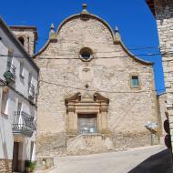 Les Oluges: Església Santa Maria  Ramon Sunyer