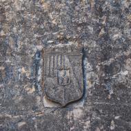 Guimerà: Portal del Nord o d'Évol,  Ramon Sunyer