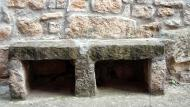 Rocallaura: banc de pedra  Ramon Sunyer