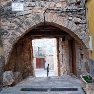 Rocallaura: portal  Ramon Sunyer