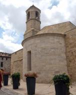 Forès: Església de Sant Miquel romànic s XII  Ramon Sunyer